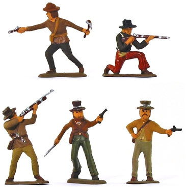 Alamo Texans -- Fully painted