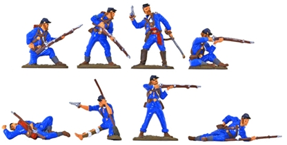 Civil War Union Infantry - basic paint