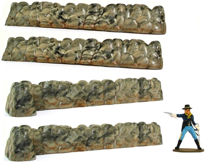 'Marx' Type Stone Walls - Basic  painted by CTS