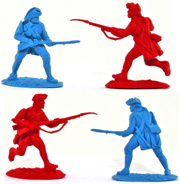 Revolutionary War Prototype Figures
