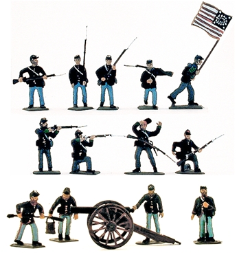 Union Infantry - Fully painted version