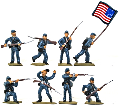 Union Infantry- Basic painted version