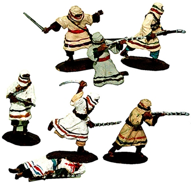 Arabs In Action Set #1 - Fully painted