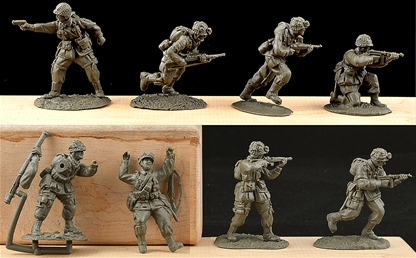 American Paratroops Set #2 - 4 left
