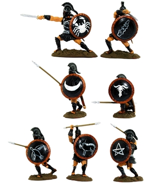 Black Thespians -- Fully painted