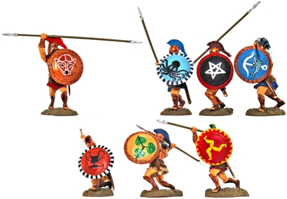 Mixed Hoplite Warriors - Super Detail painted