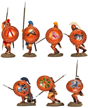 Mixed Hoplites- fully painted