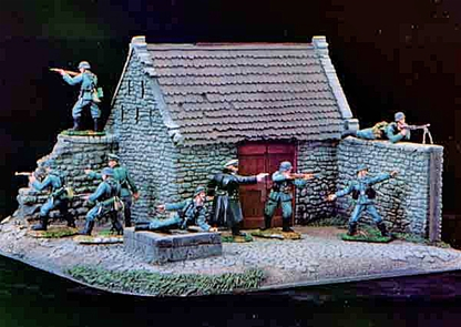 Stone Barn - 'Longest Day' - painted black