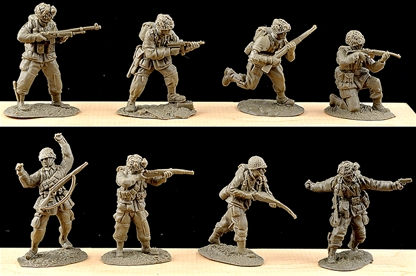 American Paratroops Set #1 - very low stock