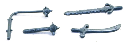 Set of 20 Medieval Weapons