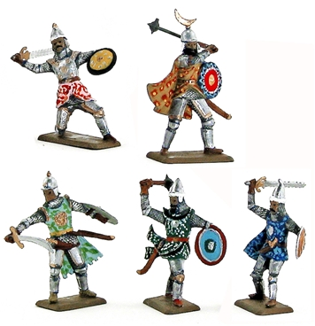 Saracen Warriors - Fully painted