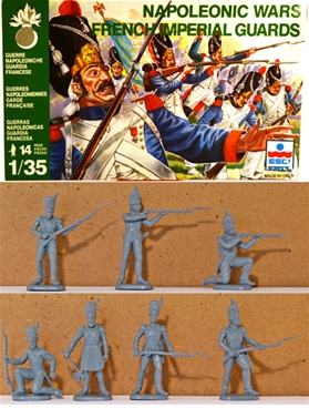 Napoleonic French Imperial Guard Infantry