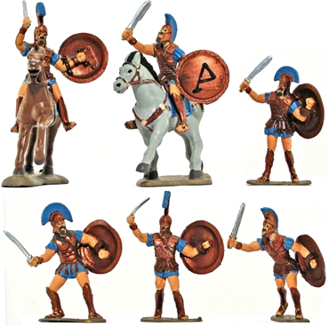 Athenian Hoplites - Fully painted