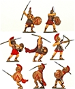 Spartan Hoplites - Fully painted figures