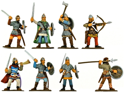 Saxon Huscarls - Fully Painted