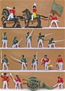 Napoleonic Russian Infantry - Painted Figures