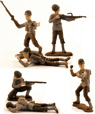 WW II U.S. Infantry - Fully painted version