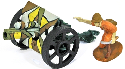World War II Japanese Field Gun - basic painted