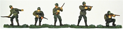 WWII American Paratroops - First Version Figures