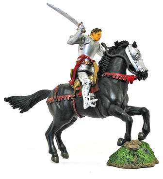 Mounted Knight with Sword
