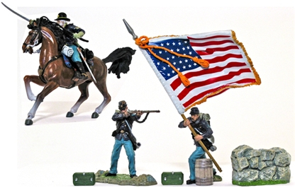 Union Army Action Set #1