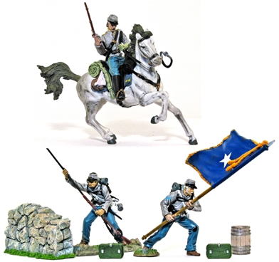 Confederate Army Action Set #1
