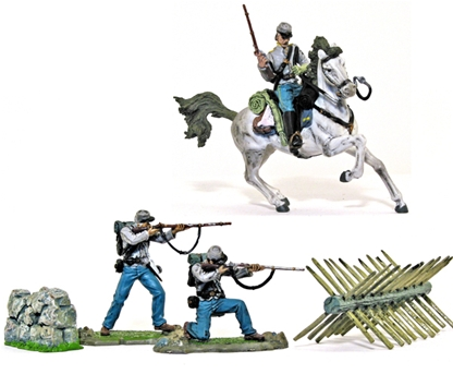 Confederate Army Action Set #2