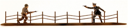 WW II Barbed Wire Fence - limited stock