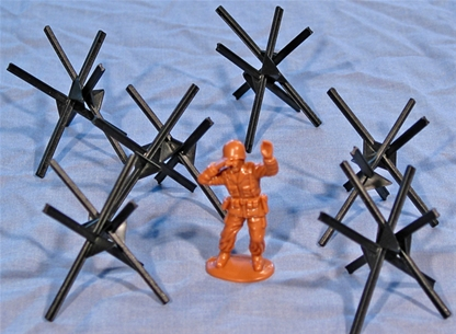 WW II Steel Beach Obstacles - limited stock!