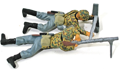 WW II Waffen SS Machine Gun - Full paint