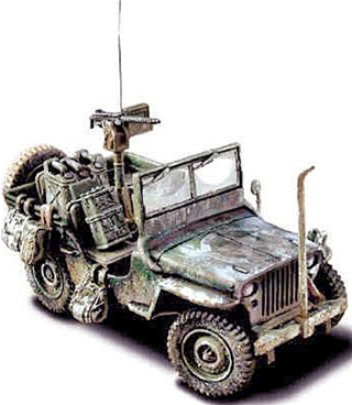 US Willys-Overland Jeep 1944