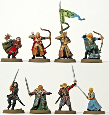 Heroes of Helm's Deep - metal kit