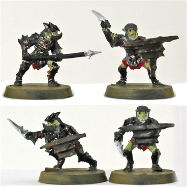 Moria Armored Goblin Warriors - 1 painted model