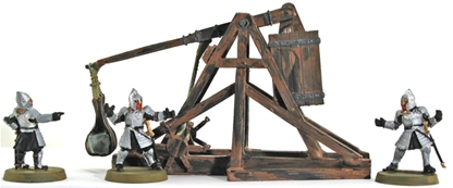 Gondor Battlecry Trebuchet -original metal version