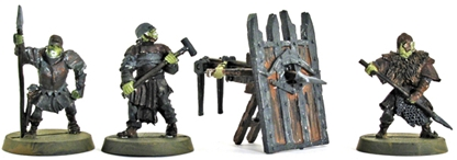 Mordor Siege Bow - original metal kit