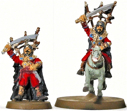 Haradrim Chieftains - original metal kit