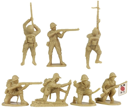 Japanese Infantry - set of 14