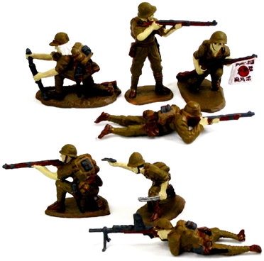 Japanese Infantry - Fully painted