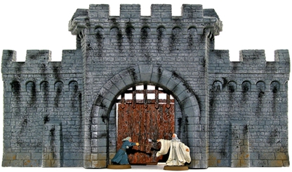 Fortress Wall with Gate House kit - 1 remains