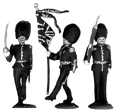British Scots Guards on Parade
