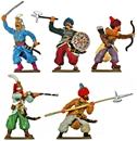 Recast Turkish Janissaries - fully painted
