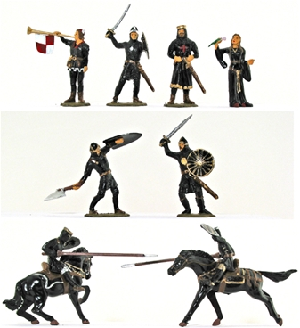 Knights - Basic painted