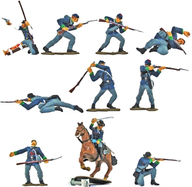 Union Infantry - fully painted