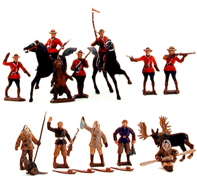 60mm Mounties and Trappers