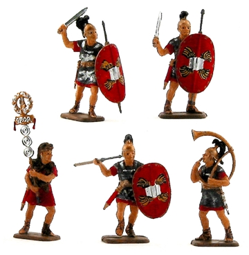 Roman Infantry - Fully painted