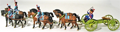 French Line Gd Horse-Drawn Artillery - Full paint