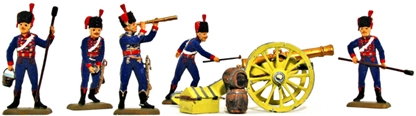 French Guard Artillery - Fully Painted