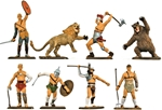 Gladiators - Fully painted - only 2 sets reman!