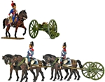 French Horse-Drawn Field Howitzer - Full paint
