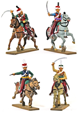Napoleonic Mameluke Cavalry - Fully painted